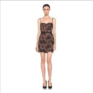 Haute Hippie lace corset dress size M D1